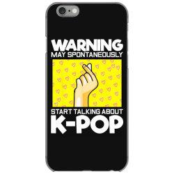 music lover korean iPhone 6/6s Case | Artistshot