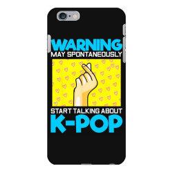 pop music lover korean idol iPhone 6 Plus/6s Plus Case   Artistshot