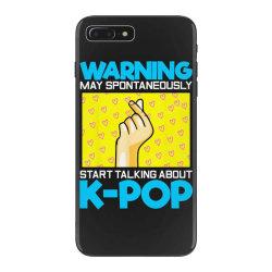 pop music lover korean idol iPhone 7 Plus Case   Artistshot
