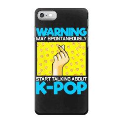 pop music lover korean idol iPhone 7 Case   Artistshot