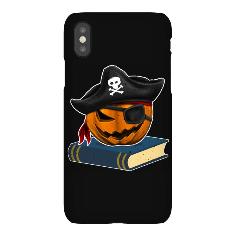 Pirate Pumpkin Book Reader Gifts Women Men Kids Halloween Iphonex Case | Artistshot