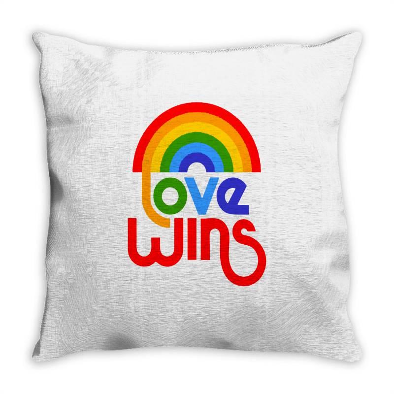 Love Wins Classic Throw Pillow | Artistshot