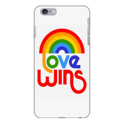 love wins classic iPhone 6 Plus/6s Plus Case | Artistshot