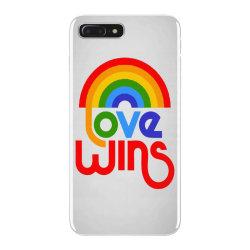 love wins classic iPhone 7 Plus Case | Artistshot