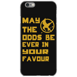 may the odds be ever in your favour iPhone 6/6s Case   Artistshot