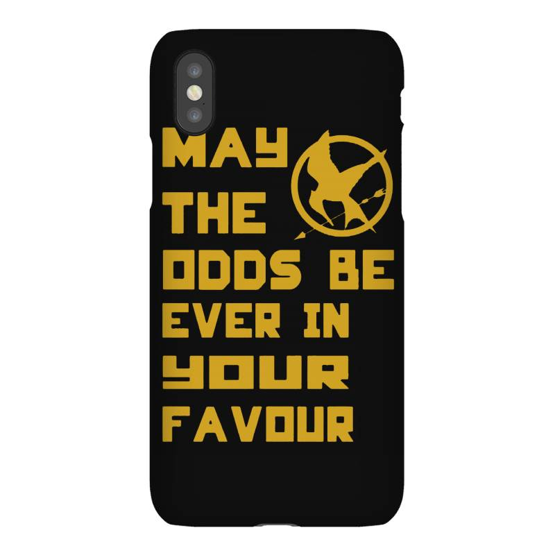 May The Odds Be Ever In Your Favour Iphonex Case | Artistshot
