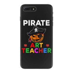 pirate teacher funny halloween party gift for art teacher iPhone 7 Plus Case   Artistshot