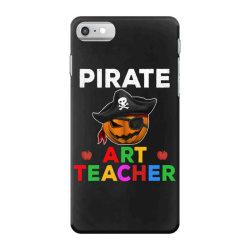 pirate teacher funny halloween party gift for art teacher iPhone 7 Case   Artistshot