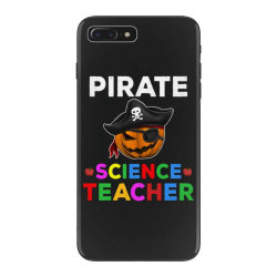 pirate teacher funny halloween gift for science teacher iPhone 7 Plus Case | Artistshot