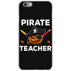 pirate teacher funny halloween party gift for teach dad mom iPhone 6/6s Case | Artistshot