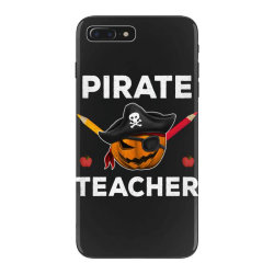 pirate teacher funny halloween party gift for teach dad mom iPhone 7 Plus Case | Artistshot