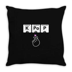 korean pop fashion Throw Pillow | Artistshot