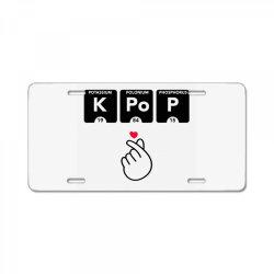 korean pop fashion License Plate | Artistshot