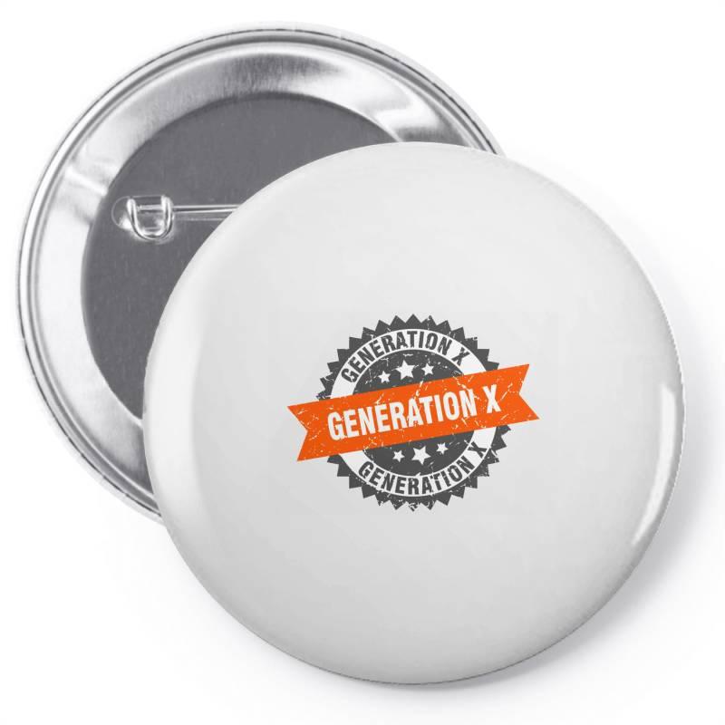 Generation X Pin-back Button   Artistshot