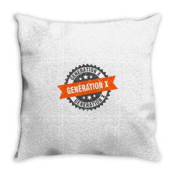 generation x Throw Pillow   Artistshot