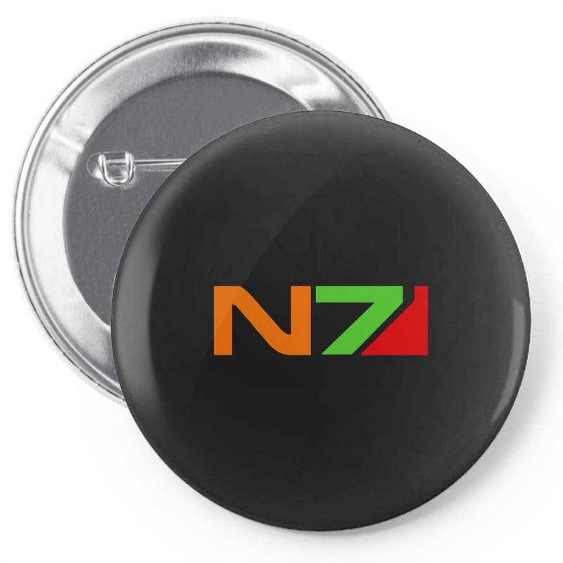 Mass Effect N7 Pin-back Button   Artistshot