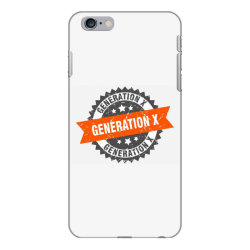 generation x iPhone 6 Plus/6s Plus Case   Artistshot