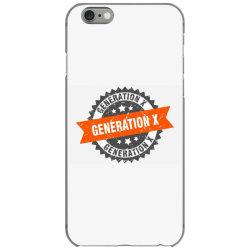 generation x iPhone 6/6s Case   Artistshot