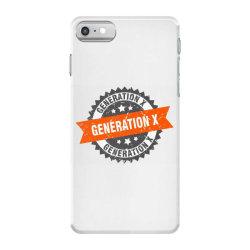 generation x iPhone 7 Case   Artistshot
