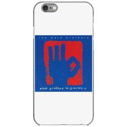 British pop rock band The Ward Brothers iPhone 6/6s Case | Artistshot