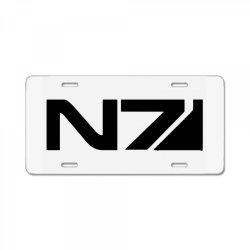 mass effect n7 License Plate | Artistshot