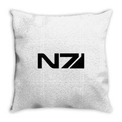 mass effect n7 Throw Pillow | Artistshot