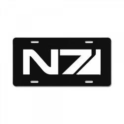 mass effect n7 License Plate   Artistshot