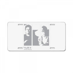English synth-pop Band License Plate   Artistshot