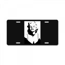 marilyn monroe License Plate   Artistshot