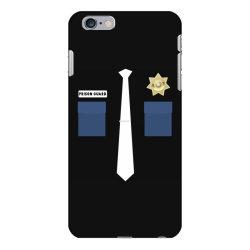 prison guard correctional officer costume halloween iPhone 6 Plus/6s Plus Case | Artistshot