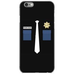 prison guard correctional officer costume halloween iPhone 6/6s Case | Artistshot