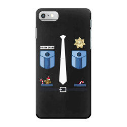 prison guard correctional officer funny christmas costume iPhone 7 Case | Artistshot