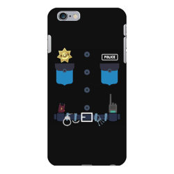 policeman kids halloween costume police officer awesome iPhone 6 Plus/6s Plus Case | Artistshot