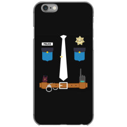 policeman funny halloween costume police officer awesome iPhone 6/6s Case   Artistshot