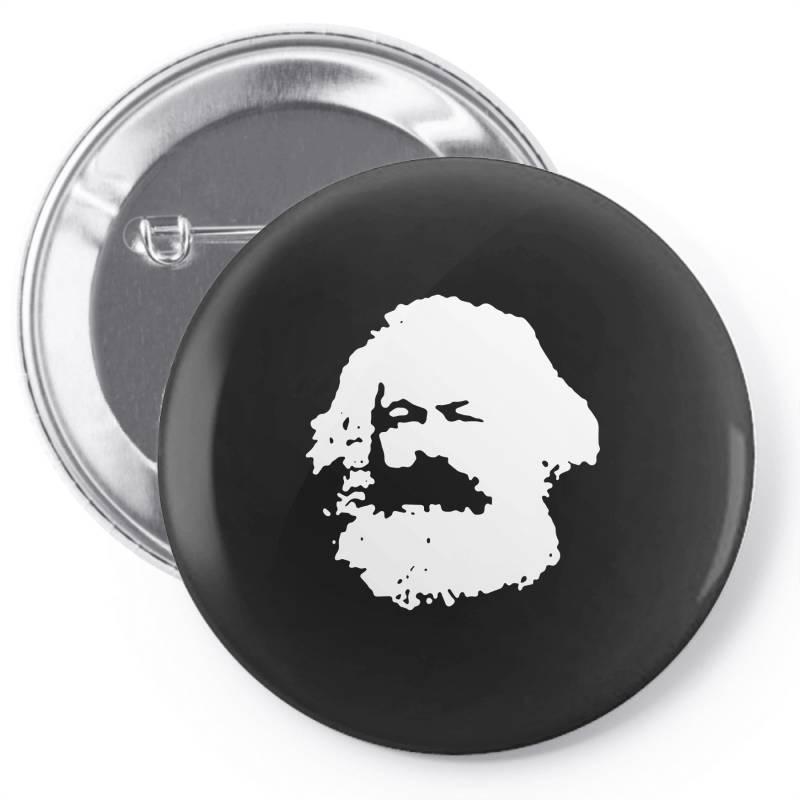 Karl Marx Pin-back Button   Artistshot