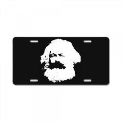 karl marx License Plate   Artistshot