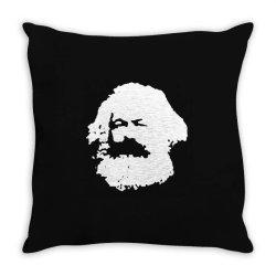 karl marx Throw Pillow   Artistshot