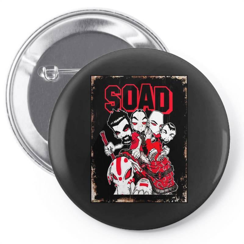 Soad Pin-back Button   Artistshot