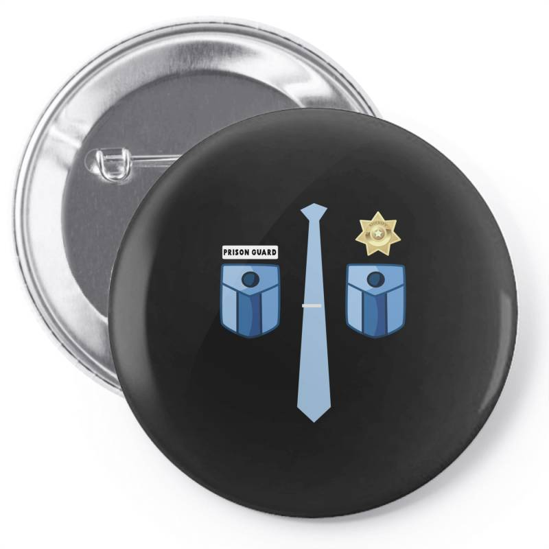 Prison Guard Correctional Officer Funny Costume Pin-back Button | Artistshot