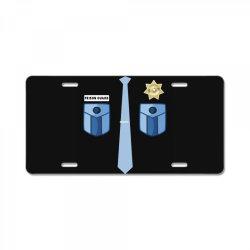 prison guard correctional officer funny costume License Plate | Artistshot