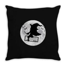 programmer halloween costume coding lover coder Throw Pillow | Artistshot