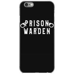prison warden correctional prison officer halloween costume iPhone 6/6s Case | Artistshot