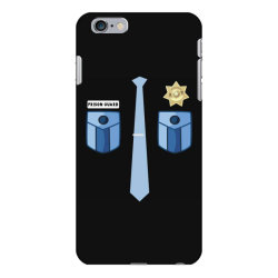 prison guard correctional officer funny costume iPhone 6 Plus/6s Plus Case | Artistshot
