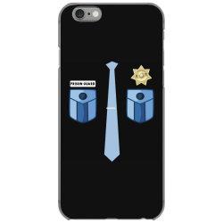 prison guard correctional officer funny costume iPhone 6/6s Case | Artistshot