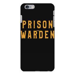 prison warden tee halloween funny costume awesome iPhone 6 Plus/6s Plus Case | Artistshot