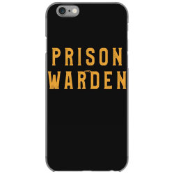 prison warden tee halloween funny costume awesome iPhone 6/6s Case | Artistshot