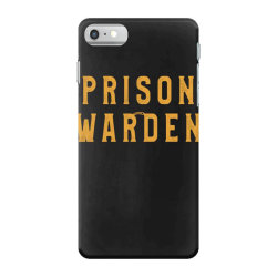 prison warden tee halloween funny costume awesome iPhone 7 Case | Artistshot