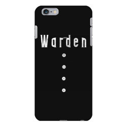 prison warden tee halloween funny costume awesome (2) iPhone 6 Plus/6s Plus Case | Artistshot