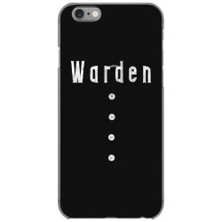 prison warden tee halloween funny costume awesome (2) iPhone 6/6s Case | Artistshot