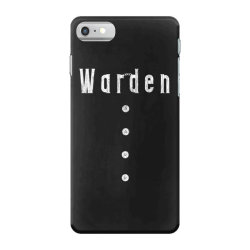 prison warden tee halloween funny costume awesome (2) iPhone 7 Case | Artistshot